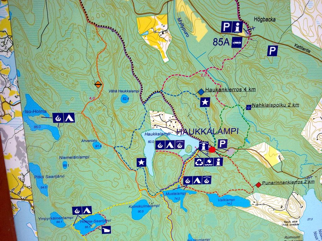 Seuran Kartat Kannykkaan Petajaveden Eramiehet